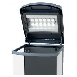 sera LED fixture 1000 silver