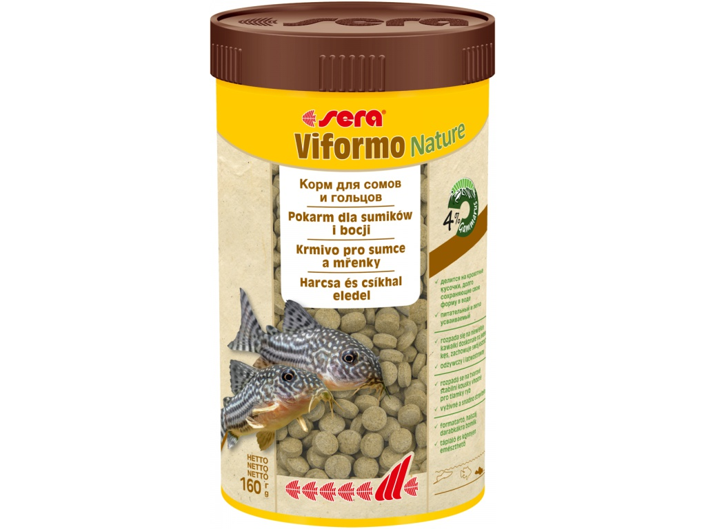 sera viformo tablety Nature 250 ml