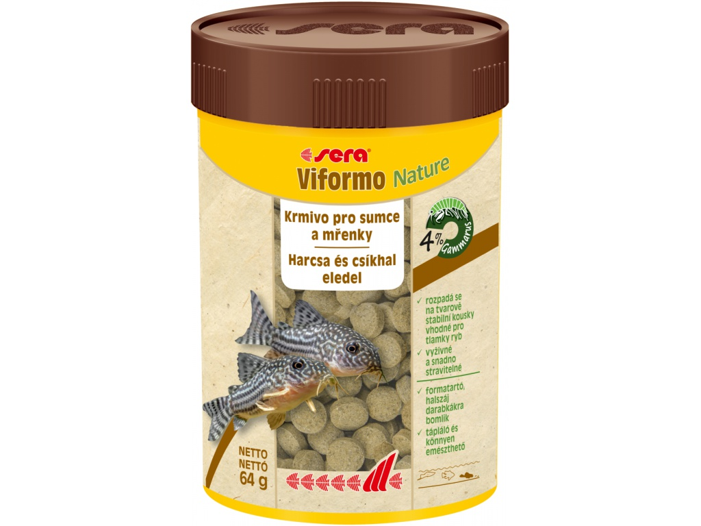 sera viformo Nature tablety  100 ml