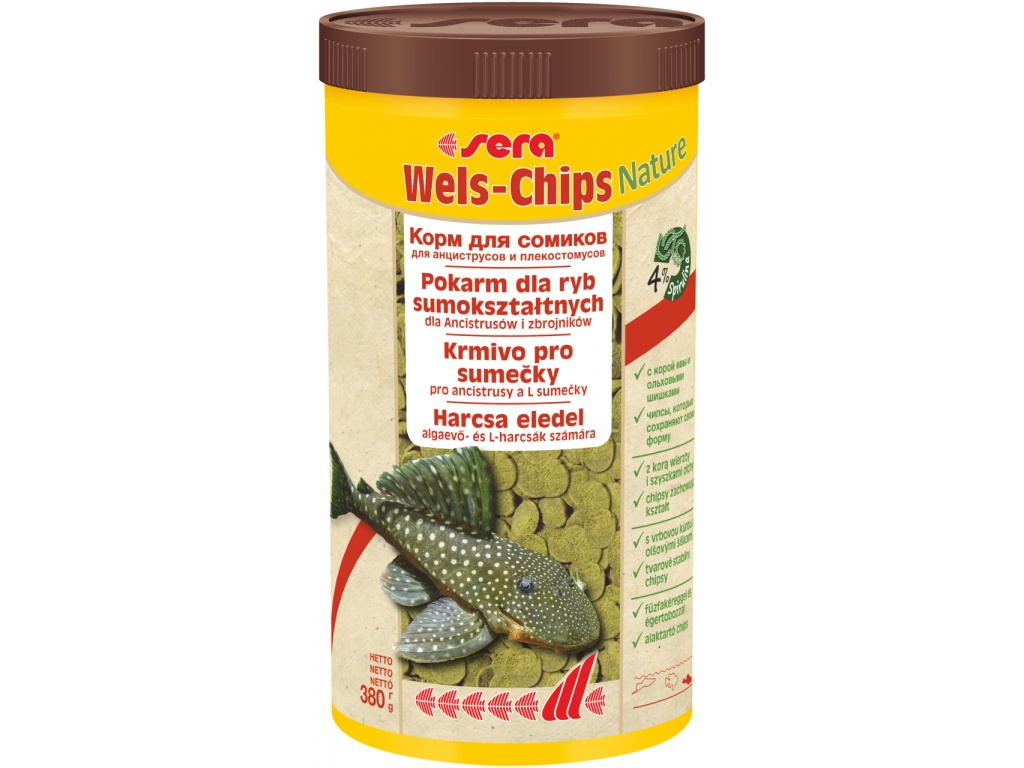 sera Wels Chips Nature 1000 ml