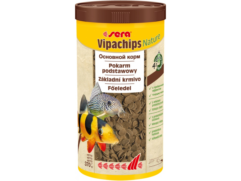 sera vipachips Nature 1000 ml