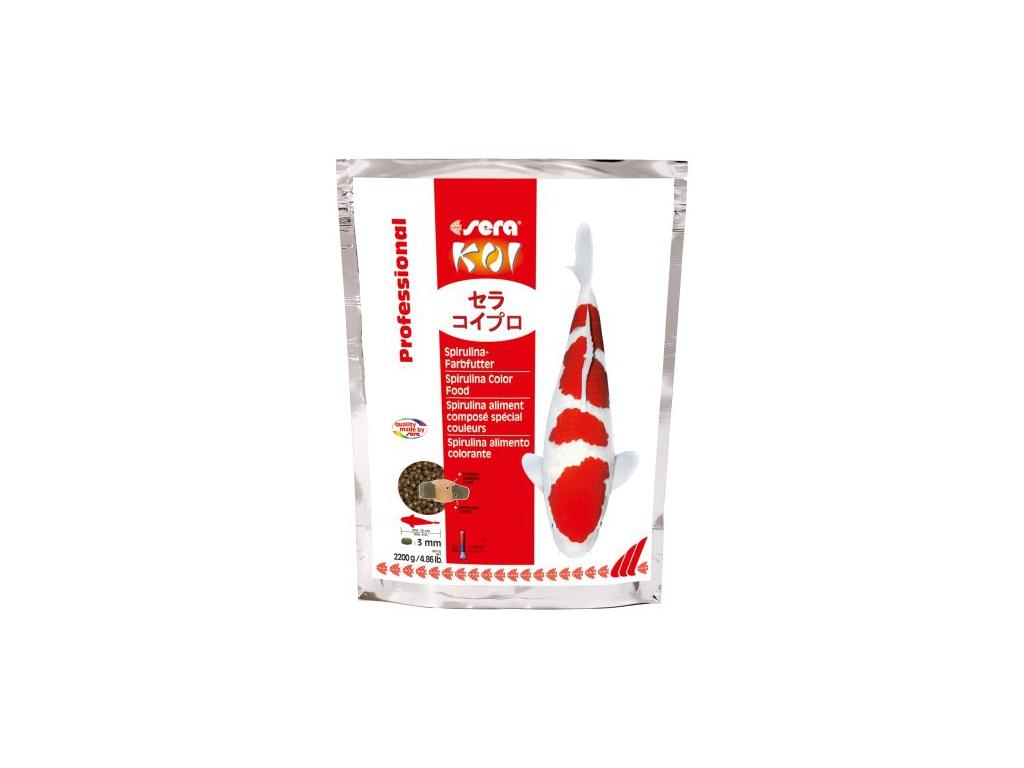 sera KOI spirulina color krmivo 2200 g