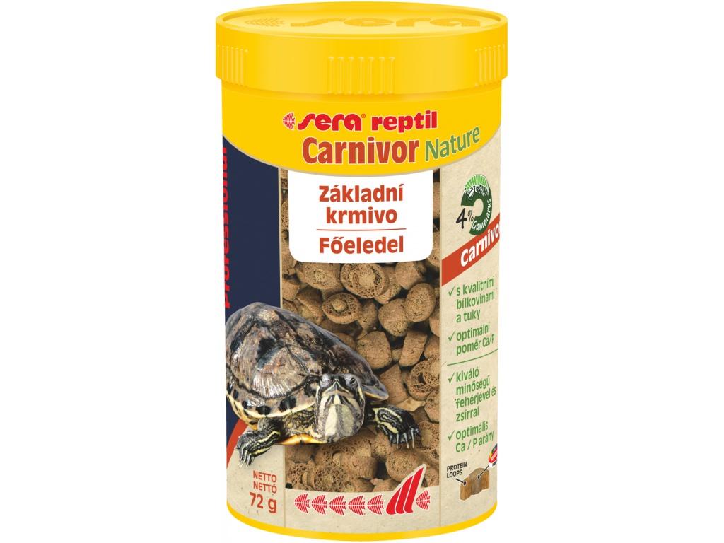 sera reptil Profess.  Carnivor Nature 250 ml