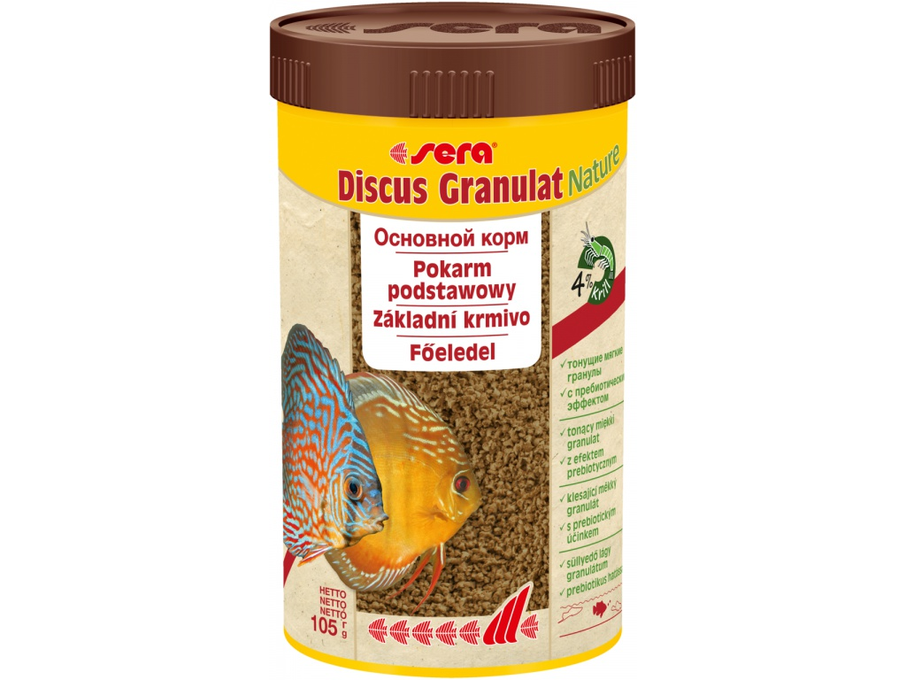 sera discus granulat  Nature 250 ml