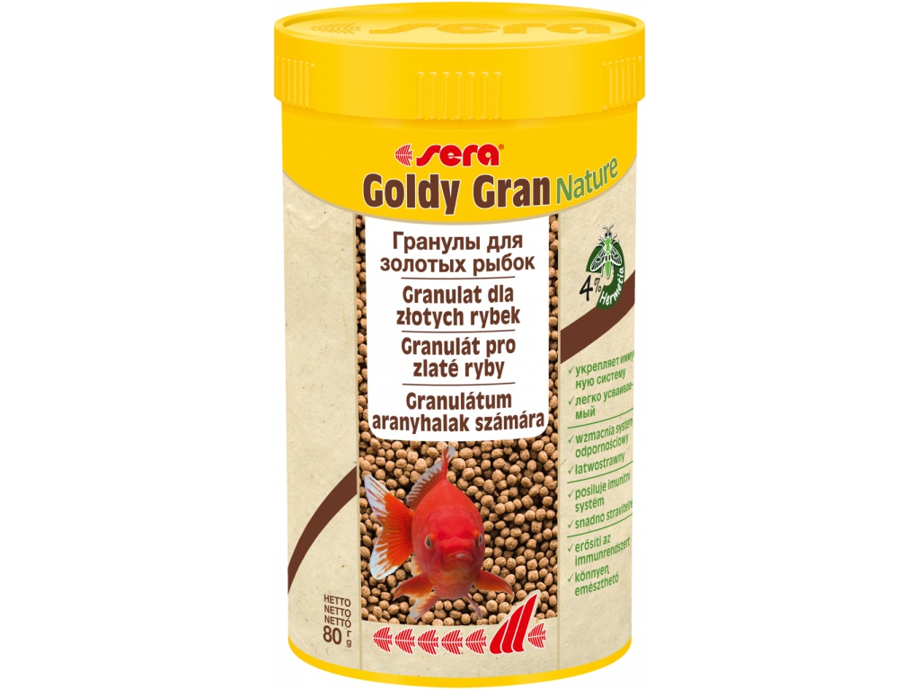 sera goldy gran Nature 250 ml