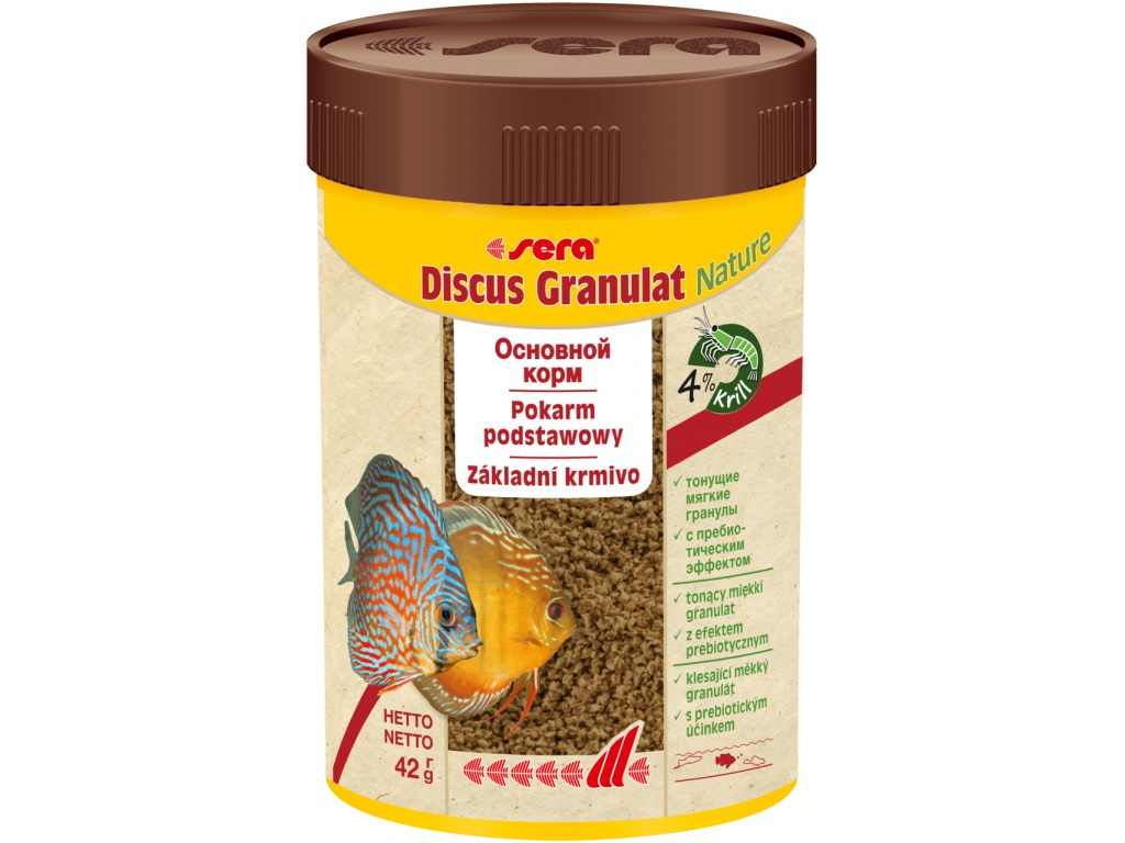 sera Discus granulat  Nature 100 ml