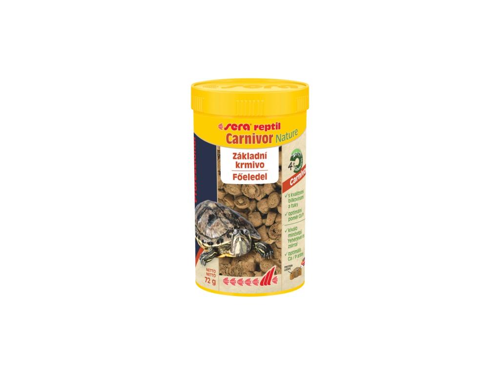 sera reptil Profess.  Carnivor Nature 1000 ml