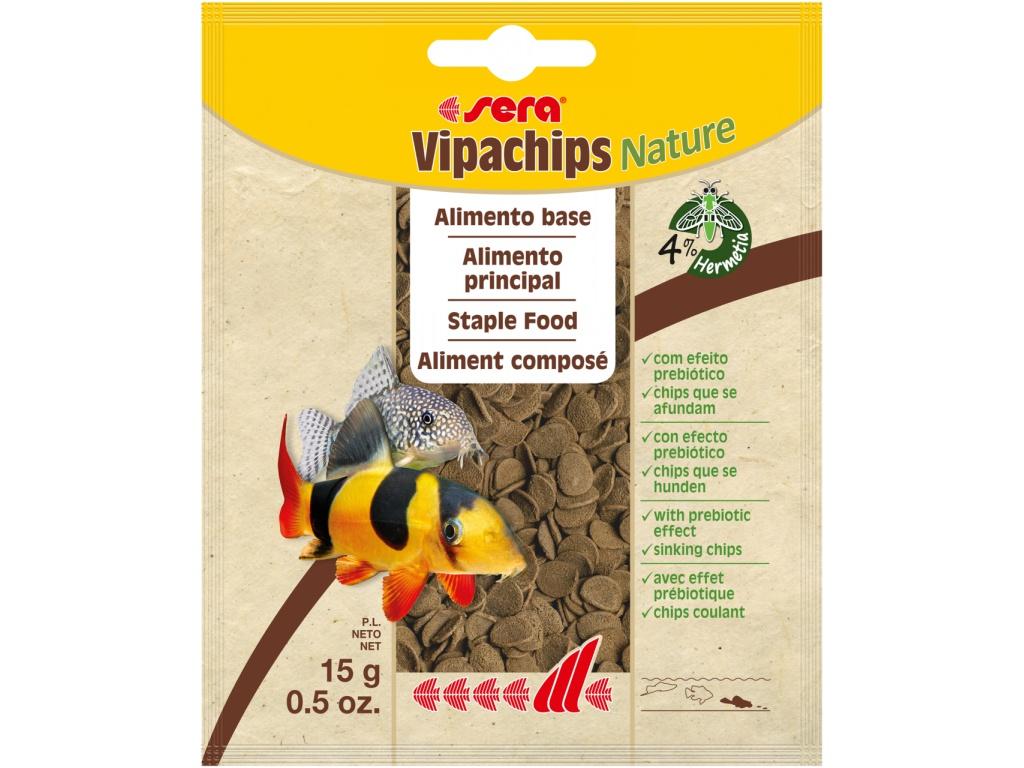 sera vipachips Nature 15 g