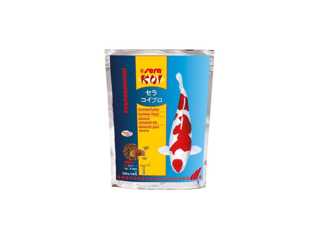 sera KOI letní krmivo 2200 g