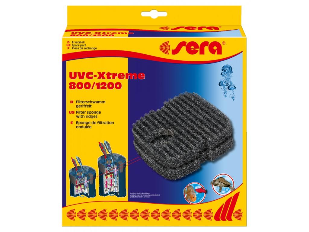 sera filtrační molitany žebrované pro UVC Xtreme 800 a 1200 2 ks