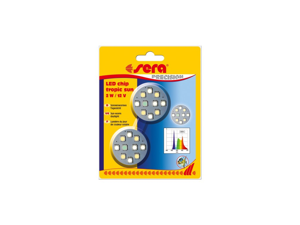 sera LED chip tropic aqua 2ks