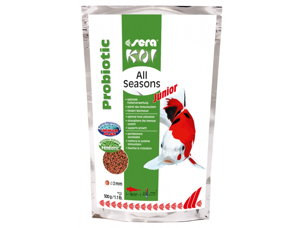 sera Koi Junior All Seasons Probiotics 500 g