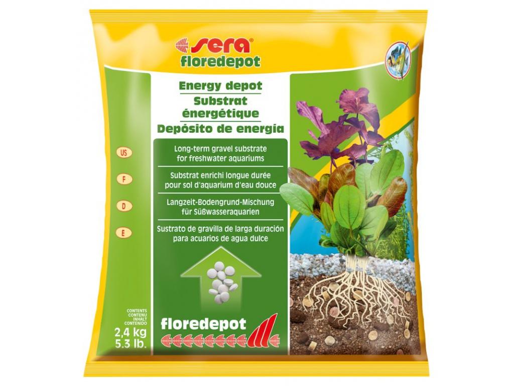 sera floredepot 2,4 kg (pytel)