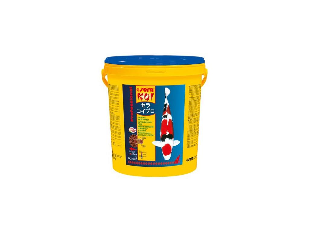 sera KOI Professional jarní/podzimní krmivo 7 kg
