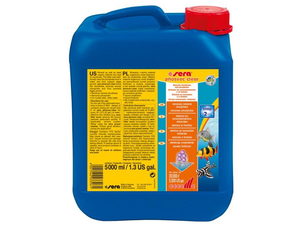 sera phosvec clear 5000 ml