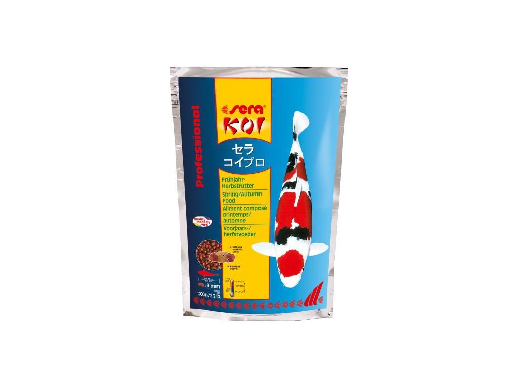 sera KOI jarní/podzimní krmivo 1000 g