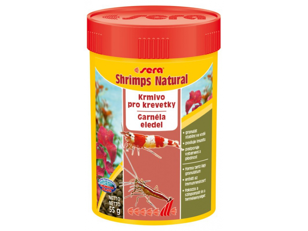 sera shrimps natural 100 ml