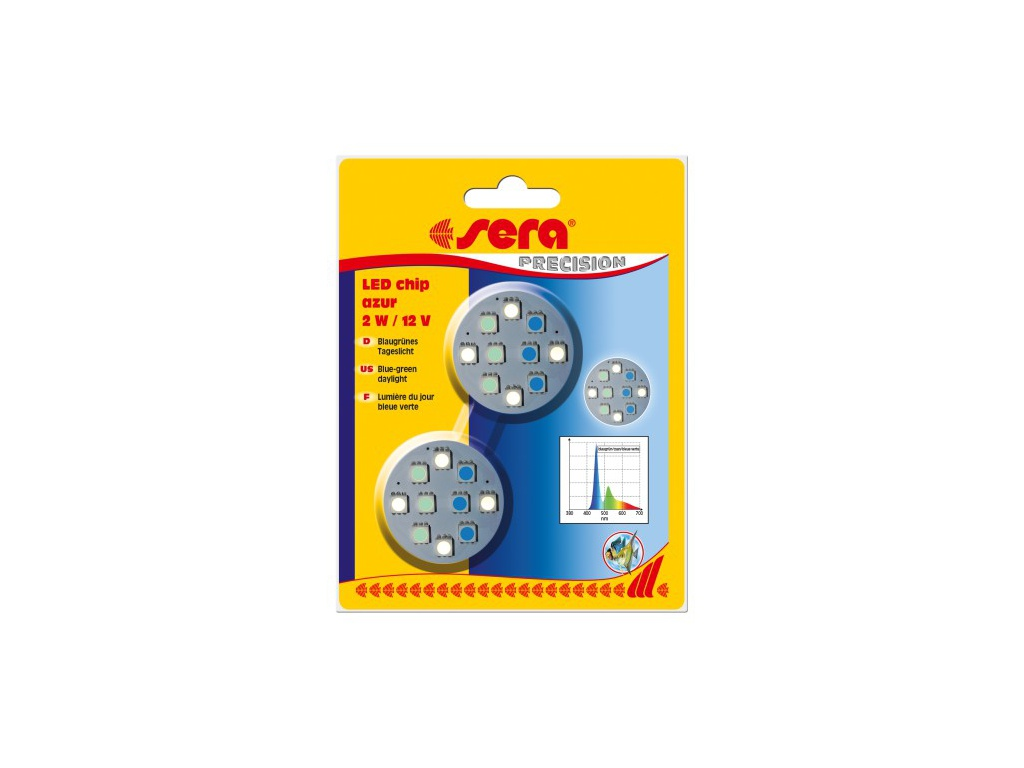 sera LED chip azur 2ks