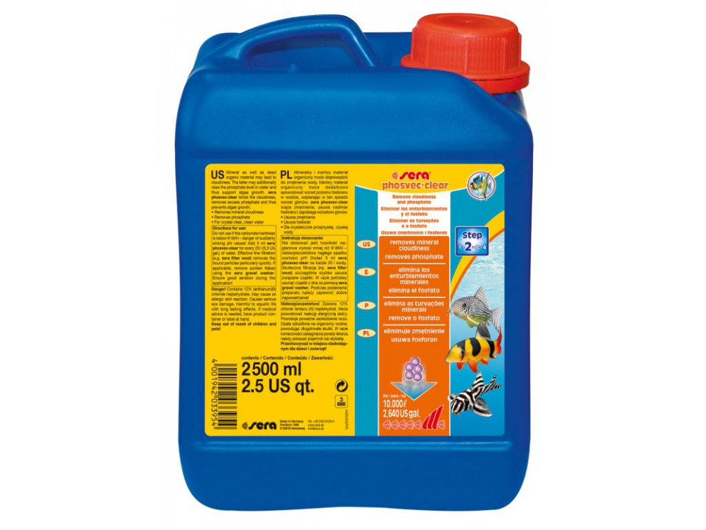 sera phosvec clear 2500 ml
