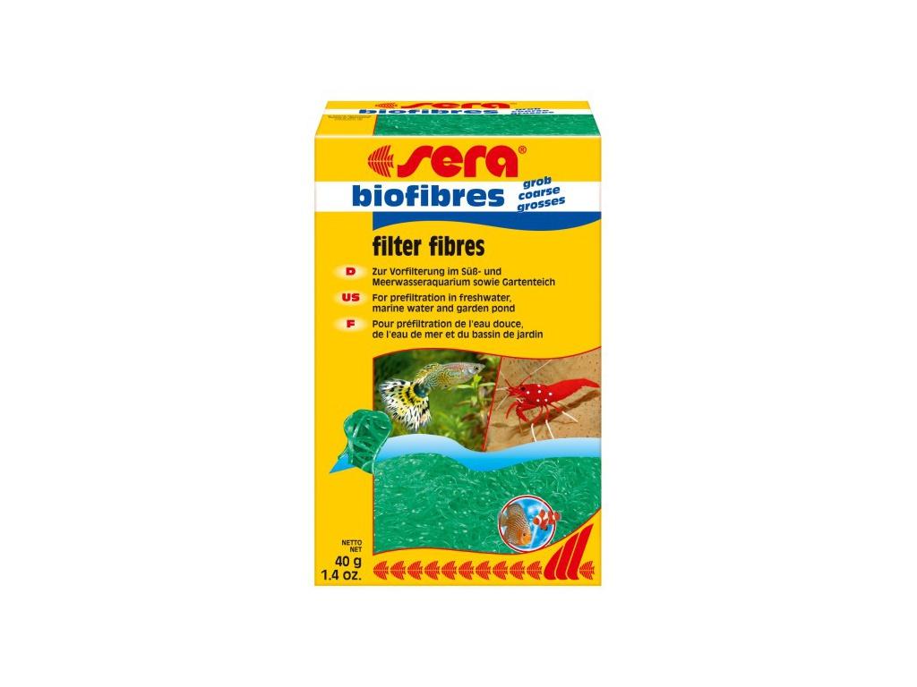 sera bio filtrační vata   hrubá 40 g