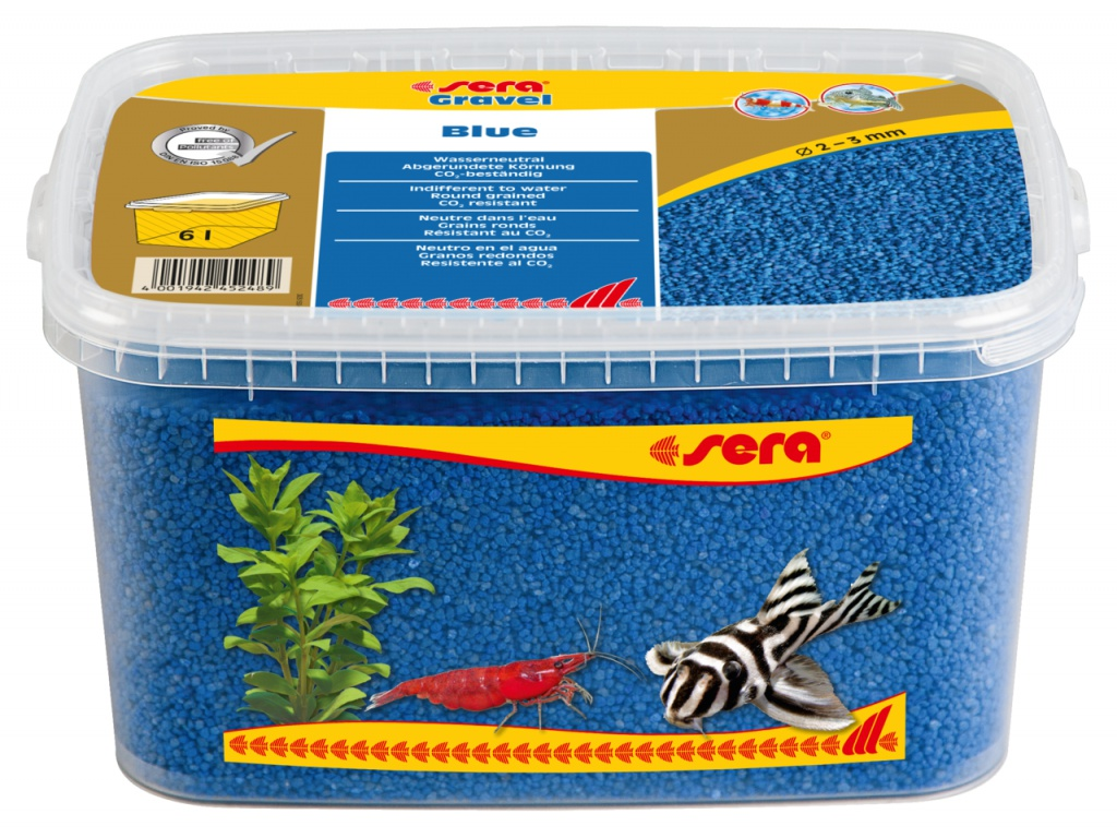 sera Gravel Blue 6l (O 2 až 3 mm)
