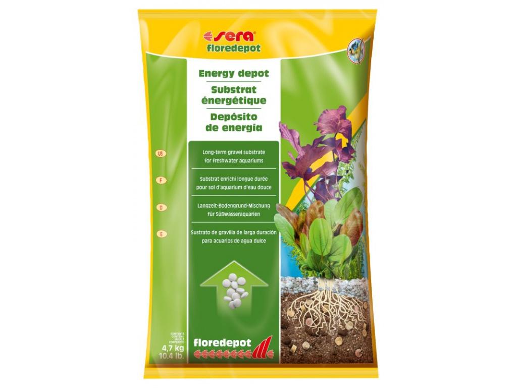 sera floredepot 4,7 kg (pytel)