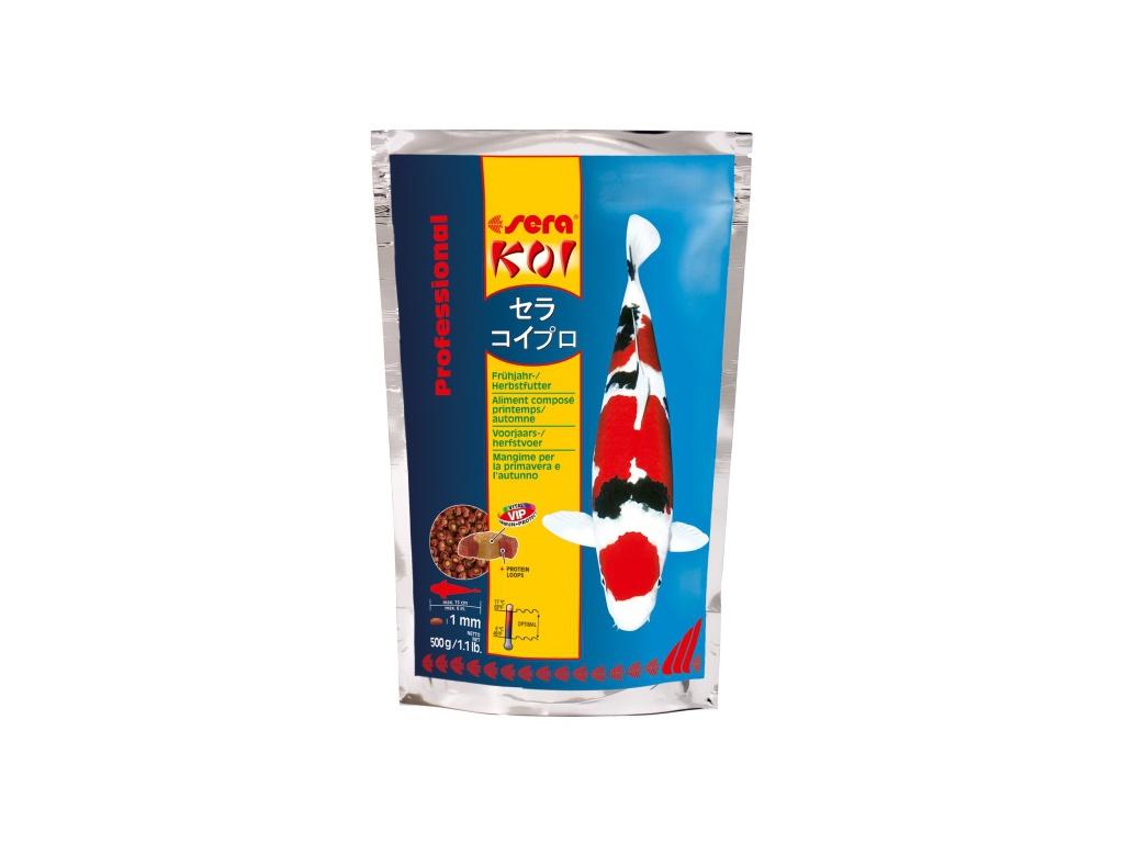 sera KOI jarní/podzimní krmivo 500 g