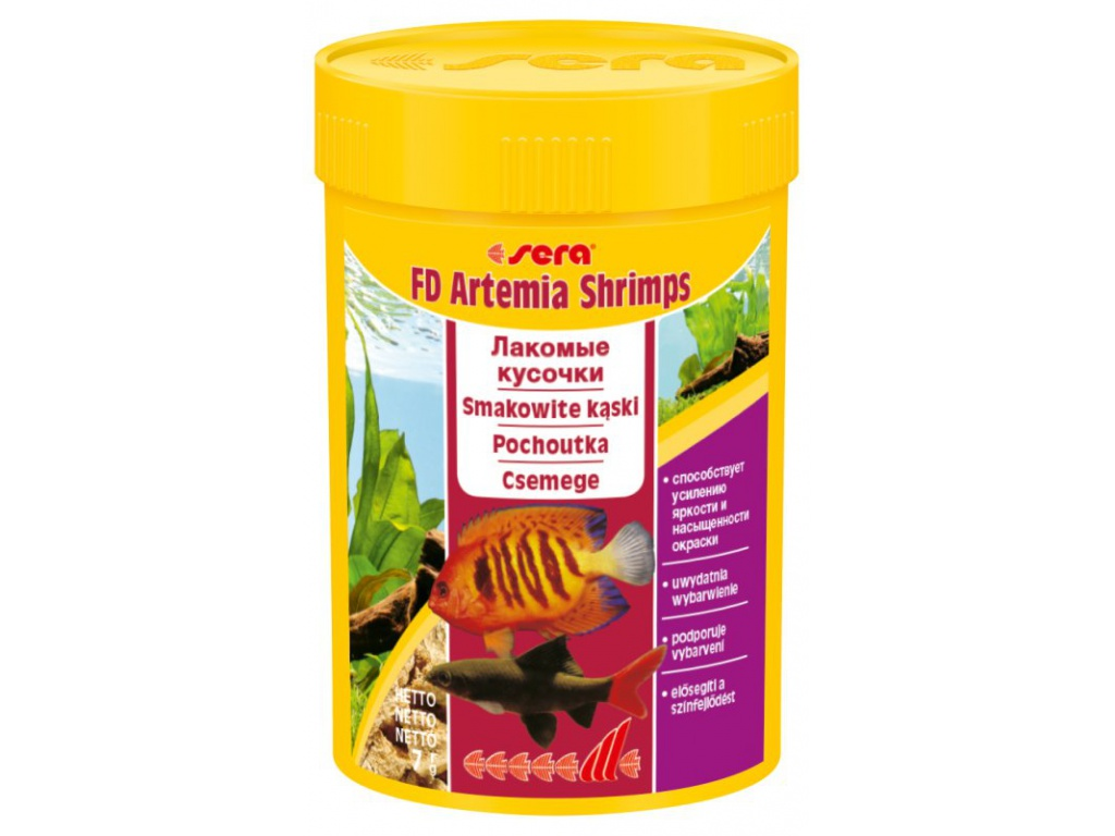 sera FD Shrimp 100 ml