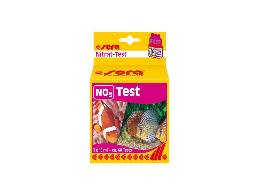 sera NO3 test (dusičnany)