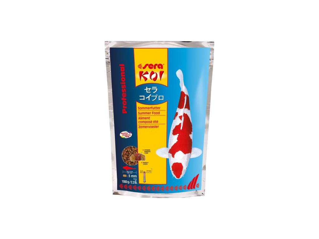 sera KOI letní krmivo 1000 g