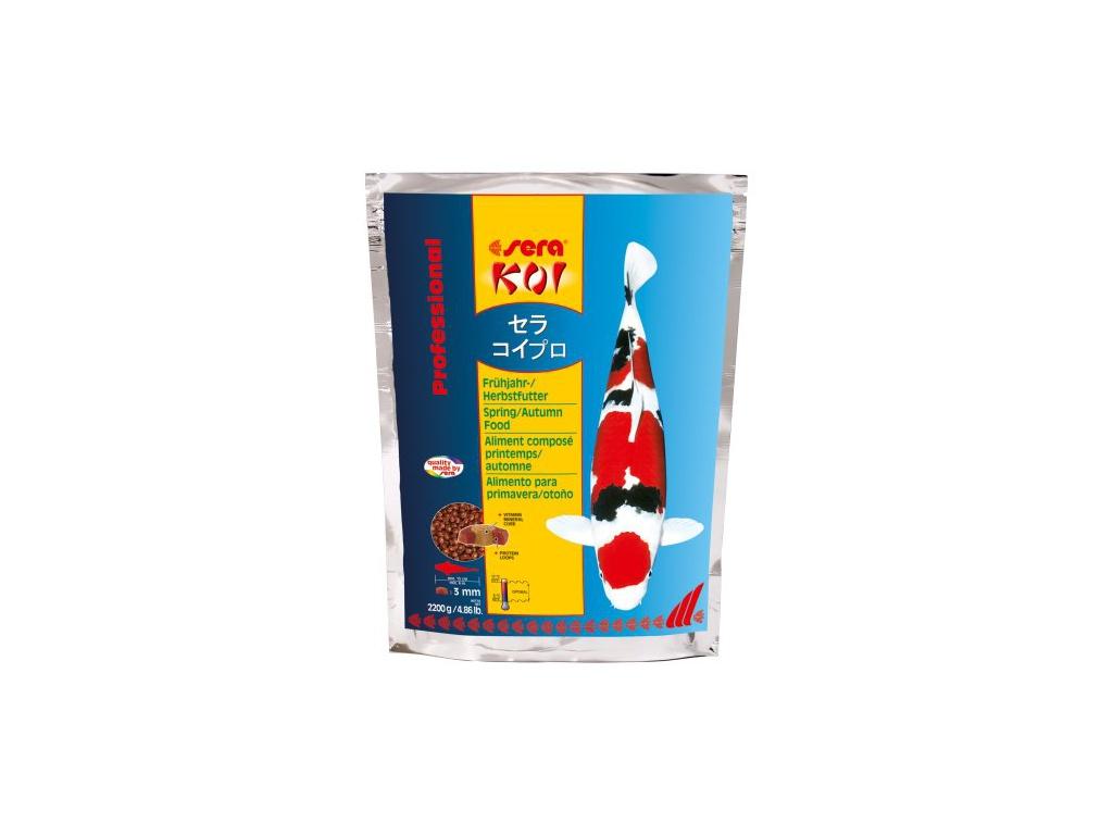 sera KOI jarní/podzimní krmivo 2200 g