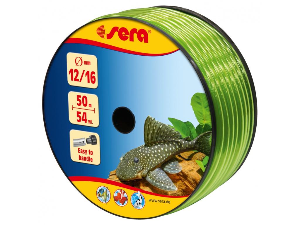 sera pružná hadice na vodu 12/16 50 m zelená