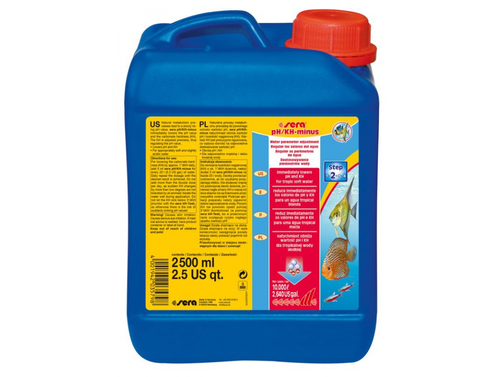 sera pH/kH minus 2500 ml