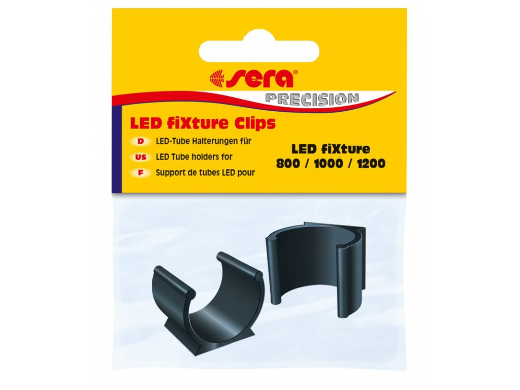 sera LED Fixture Clips black 2 ks