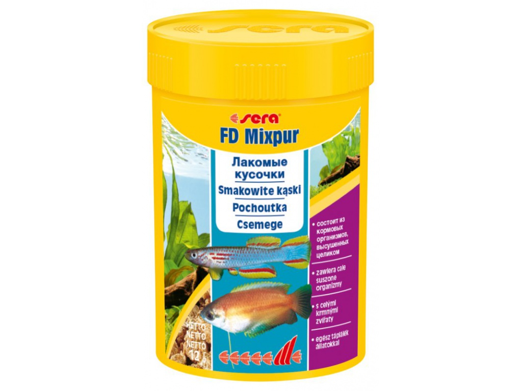 sera FD Mixpur 100 ml
