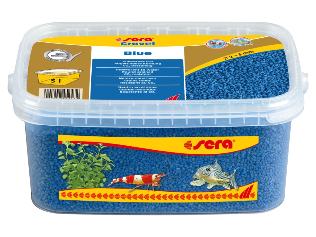 sera Gravel Blue 3l (O 2 až 3 mm)